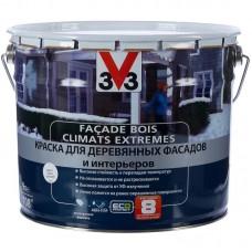 """Краска для деревянных фасадов и интерьеров V33 """"Climats Extrimes"""" 0.9л"""