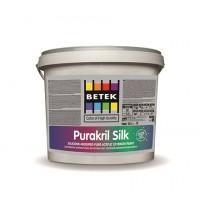 BETEK PURAKRIL SILK WHITE  - акрилатная фасадная краска - 2,5LT