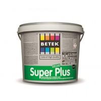 BETEK SUPER PLUS - матовая краска для внутренних работ - 2,5л