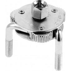 HOEGERT Ключ для масляного фильтра универсальный 65-120мм