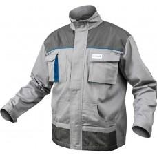 HOEGERT Куртка рабочая серая 100% хлопок