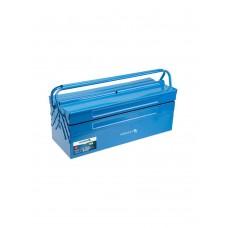 HOEGERT TECHNIK - ящик для инструментов металлический  - 43 х 20 х 20 см / 5 отделений