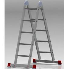 Лестница шарнирная 2x5 ступеней NV 331 артикул 3310205 Новая высота