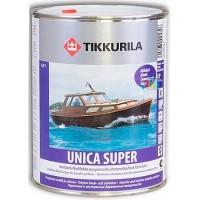 Tikkurila Unica Super  - глянцевый уретано-алкидный лак для дерева - 0.9л