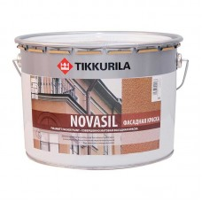 TIKKURILA NOVASIL - силоксановая фасадная краска - 9,0л