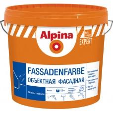 Alpina EXPERT Fassadenfarbe - акриловая краска для наружных и внутренних работ - 10 л (15,5 кг)