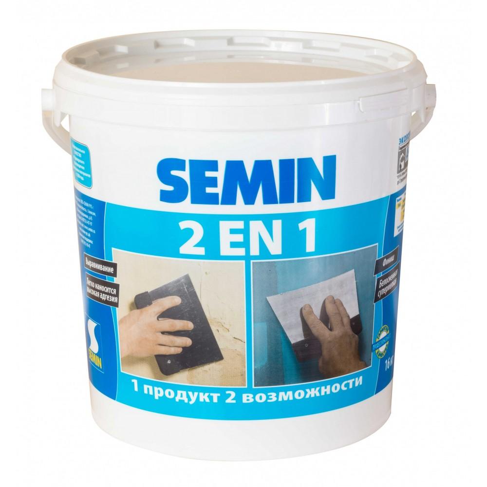 Semin 2 en 1/ 2 в 1 - универсальная шпатлёвка - 16,0 кг