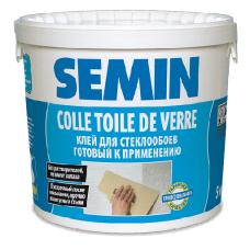 SEMIN COLLE TOILE DE VERRE / СЕМИН КОЛЬ ТДВ - клей для стеклохолста и паутинки - 20,0 кг