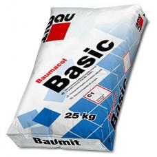 Клей для керамической плитки Baumacol BASIC 25 кг