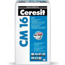 Ceresit CM 16 Flex - высокоэластичный клей для плитки - 25,0 кг