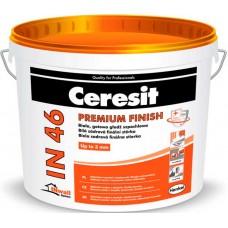 Ceresit IN 46 шпатлевка полимерная однокомпонентная для внутренней отделки - 15,0 кг