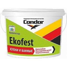 Condor Ekofest - краска для стен и потолков - 3,75 кг.