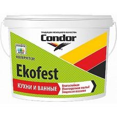 Condor Ekofest - краска для стен и потолков - 7,5 кг.