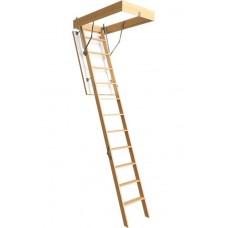 Чердачная лестница Döcke PREMIUM 70х120х300 с усиленным утеплением люка