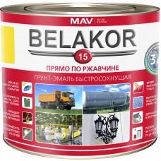 MAV Belakor 15 - грунт-эмаль 3в1 (красно-коричневый) - 10л (10,0 кг)