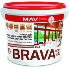 MAV BRAVA ACRYL 35D - акриловая краска для дерева - 1л (1,1 кг)