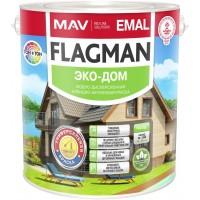 FLAGMAN EMAL ЭКО-ДОМ - алкидно-акриловая эмаль -  5л (5,6кг)