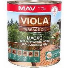 Масло с воском для террасной доски VIOLA OIL 2.5л (2.2 кг), палисандр