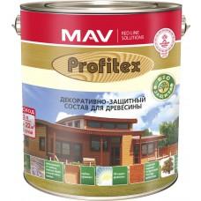 PROFITEX - защитно-декоративный состав для древесины / Палисандр / -  10л (8,0кг)