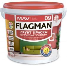MAV FLAGMAN 09 - укрывистая грунтовка для внутренних работ - 11л (14,0 кг)