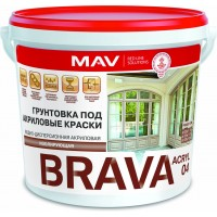 MAV  BRAVA ACRYL 04 - грунтовка для дерева - 20л (20,0 кг)