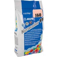 Mapei Keracolor FF - шовный заполнитель на цементной основе, магнолия №160 - 5 кг.