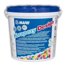 Mapei Kerapoxy Design - эпоксидная фуга-клей для плитки - 3,0кг