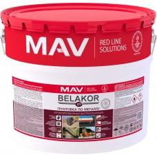 MAV Belakor 01 - грунт антикоррозионный (серый) - 10л (12,0 кг)