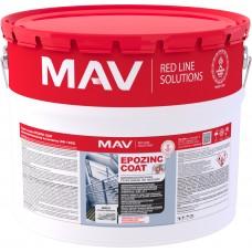 MAV EPOZINC COAT - цинкнаполненная грунт-эмаль по металлу - 10л (15,0 кг)