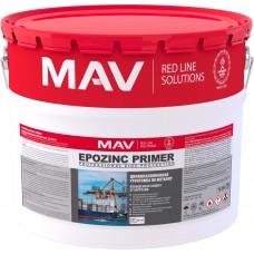 MAV EPOZINC PRIMER - цинкнаполненная грунтовка по металлу - 10л (15,0 кг)