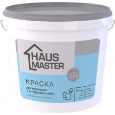 Краска HAUS MASTER  для наружных и внутренних работ - 13,2 л (17,0 кг)
