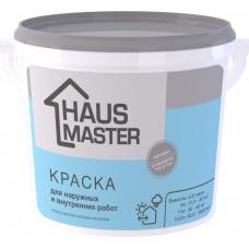 Краска HAUS MASTER  для наружных и внутренних работ - 5л (7,0 кг)