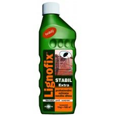 LIGNOFIX STABIL EXTRA - профилактический антисептик для древесины -  1,0 кг (коричневый, концентрат)