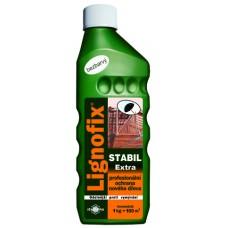 LIGNOFIX STABIL EXTRA - профилактический антисептик для древесины -  1,0 кг (бесцветный, концентрат)