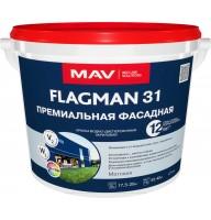 MAV FLAGMAN 31- премиальная фасадная краска - 11л (14,0 кг)
