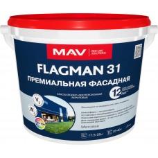 MAV FLAGMAN 31- премиальная фасадная краска - 11л(14,0 кг)