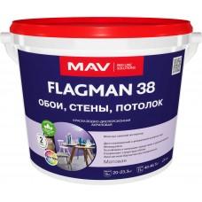 MAV FLAGMAN 38 - матовая интерьерная краска - 1,0л (1,4 кг)