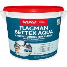 MAV FLAGMAN BETTEX AQUA - краска для бетонных полов - 11л (11,5 кг)