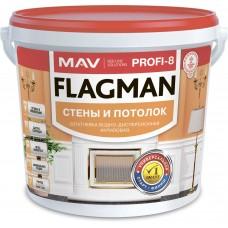 MAV FLAGMAN PROFI-8 - универсальная полимерная шпатлевка - 11л (16,0 кг)