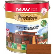 Mav PROFITEX защитно-декоративный cостав для древесины Махагон - 1,0 л. (0,7 кг)