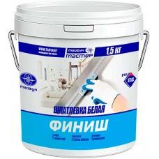 Тайфун Мастер Финиш белая полимерная шпатлевка, финишная - 1,5 кг