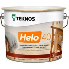 Teknos Helo 40 - уретано-алкидный лак для дерева - 9л (полуглянцевый)