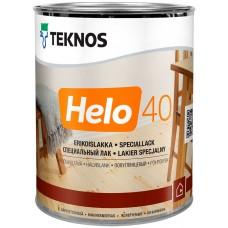 Teknos Helo 40 - уретано-алкидный лак для дерева - 0,9л (полуглянцевый)