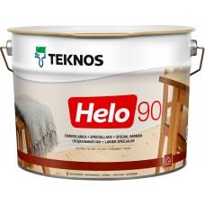 Teknos Helo 90 - уретано-алкидный лак для дерева - 9л (глянцевый)