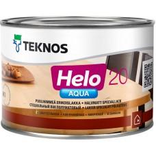 Teknos Helo Aqua 20 - водный лак для дерева - 0,45л (полуматовый)
