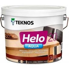 Teknos Helo Aqua 20 - водный лак для дерева - 2,7л (полуматовый)