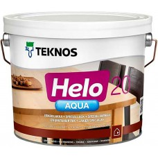 Teknos Helo Aqua 20 - водный лак для дерева - 9л (полуматовый)
