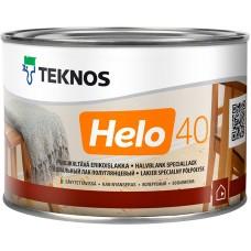 Teknos Helo 40 - уретано-алкидный лак для дерева - 0,45л (полуглянцевый)