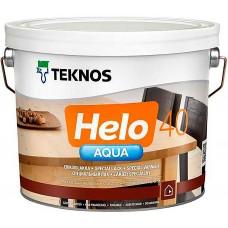 Teknos Helo Aqua 40 - водный лак для дерева - 2,7л (полуглянцевый)