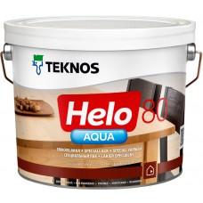 Teknos Helo Aqua 80 - водный лак для дерева - 2,7л (глянцевый)